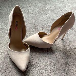 Brand new never worn nude heels